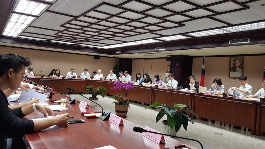 ▲公會協助解決跨境電商經營問題-跨境電商經營問題盤點之跨部會協調會議。(圖/公會提供 )